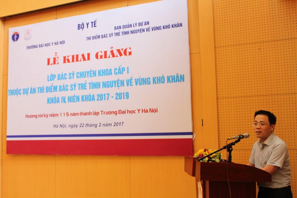 Lễ khai giảng lớp chuyên khoa I khóa 11 cho các bác sỹ trẻ tình nguyện khu vực Miền trung, Tây Nguyên