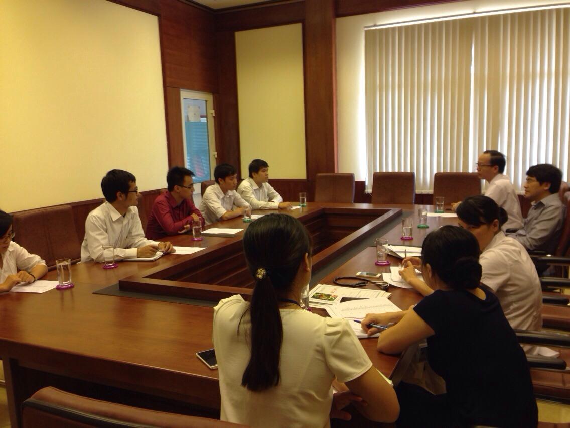 Bệnh viện Nhi Trung ương gặp mặt các bác sỹ trước khi tuyển dụng