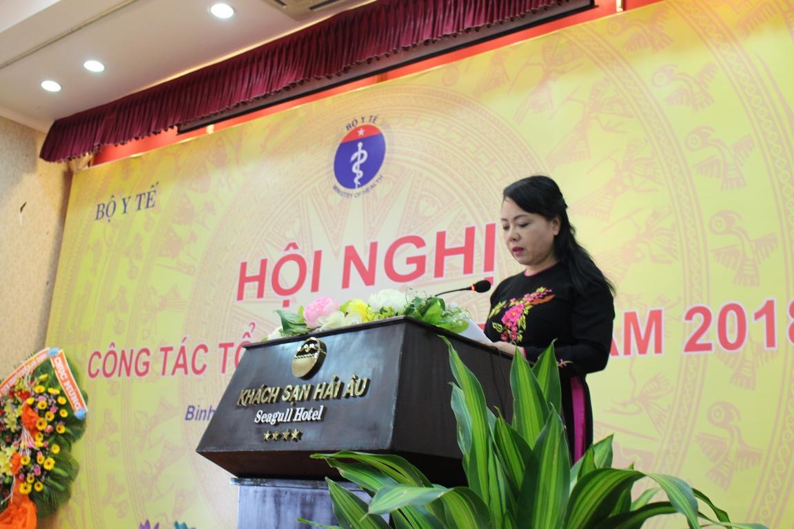 Hội nghị công tác Tổ chức cán bộ năm 2018