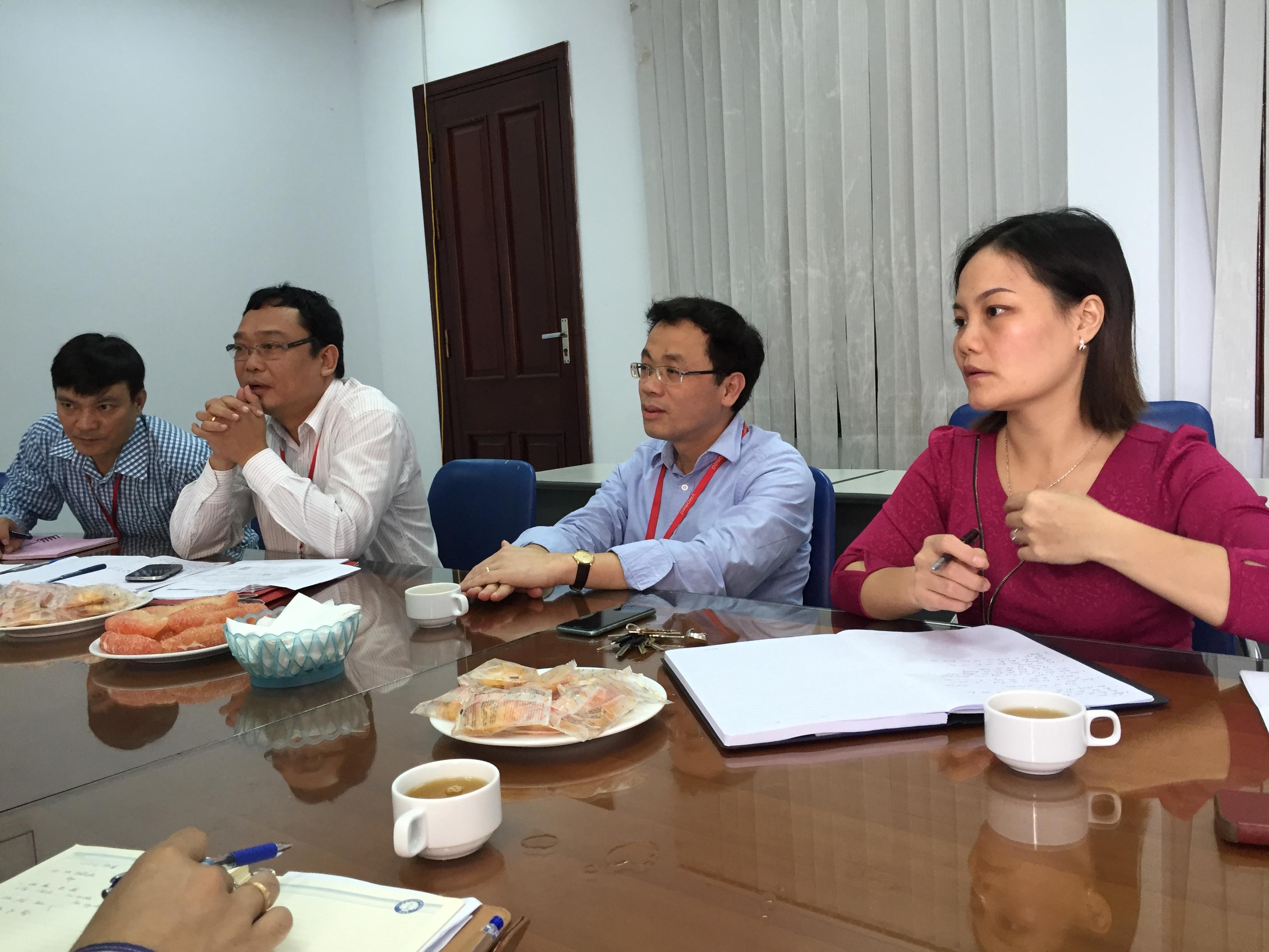 Ban quản lý dự án làm việc với Trường Đại học Y Hà Nội về việc đào tạo và khai giảng lớp chuyên khoa I cho các bác sỹ tham gia dự án