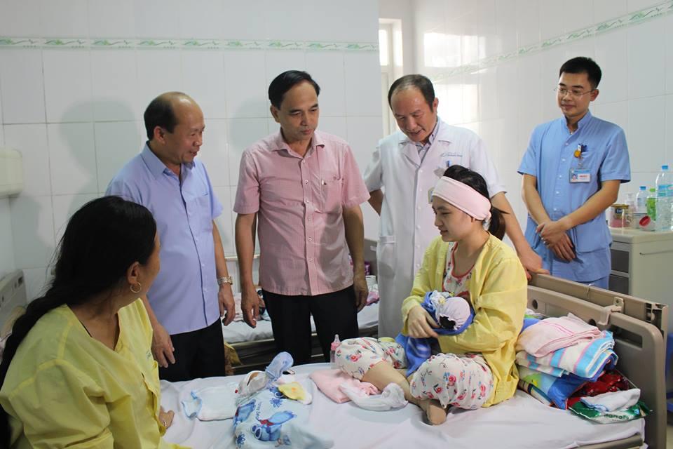 Đoàn công tác Bộ Y tế thăm và làm việc tại Bệnh viện Sản Nhi tỉnh Quảng Ninh