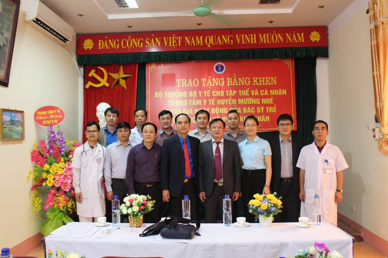 Bộ Y tế đánh giá hoạt động của bác sỹ trẻ tình nguyện tại Điên Biên