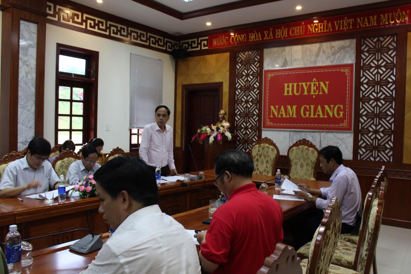 Khảo sát địa điểm tổ chức Lễ bàn giao bác sỹ trẻ tình nguyện khóa 6 tại Quảng Nam