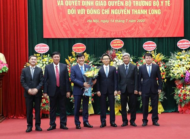Lễ Công bố Quyết định Bí thư Ban Cán sự Đảng Bộ Y tế, Quyết định giao Quyền Bộ trưởng Bộ Y tế đối với đồng chí Nguyễn Thanh Long